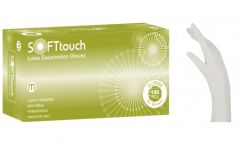Soft Touch Γάντια Λευκό με πούδρα