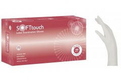 Soft Touch Γάντια Λευκό χωρίς πούδρα