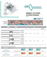 Leaf Expander Spring Activat. 9mm 900g 3 Springs