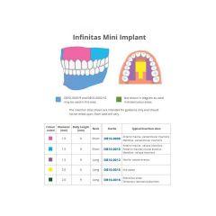Sterile Infinitas Implant L6mm D1.5mms/N