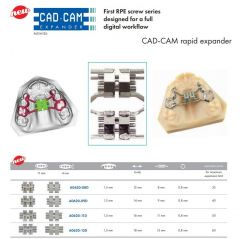 PALATAL EXPANSION SCREW CAD-CAM 8MM